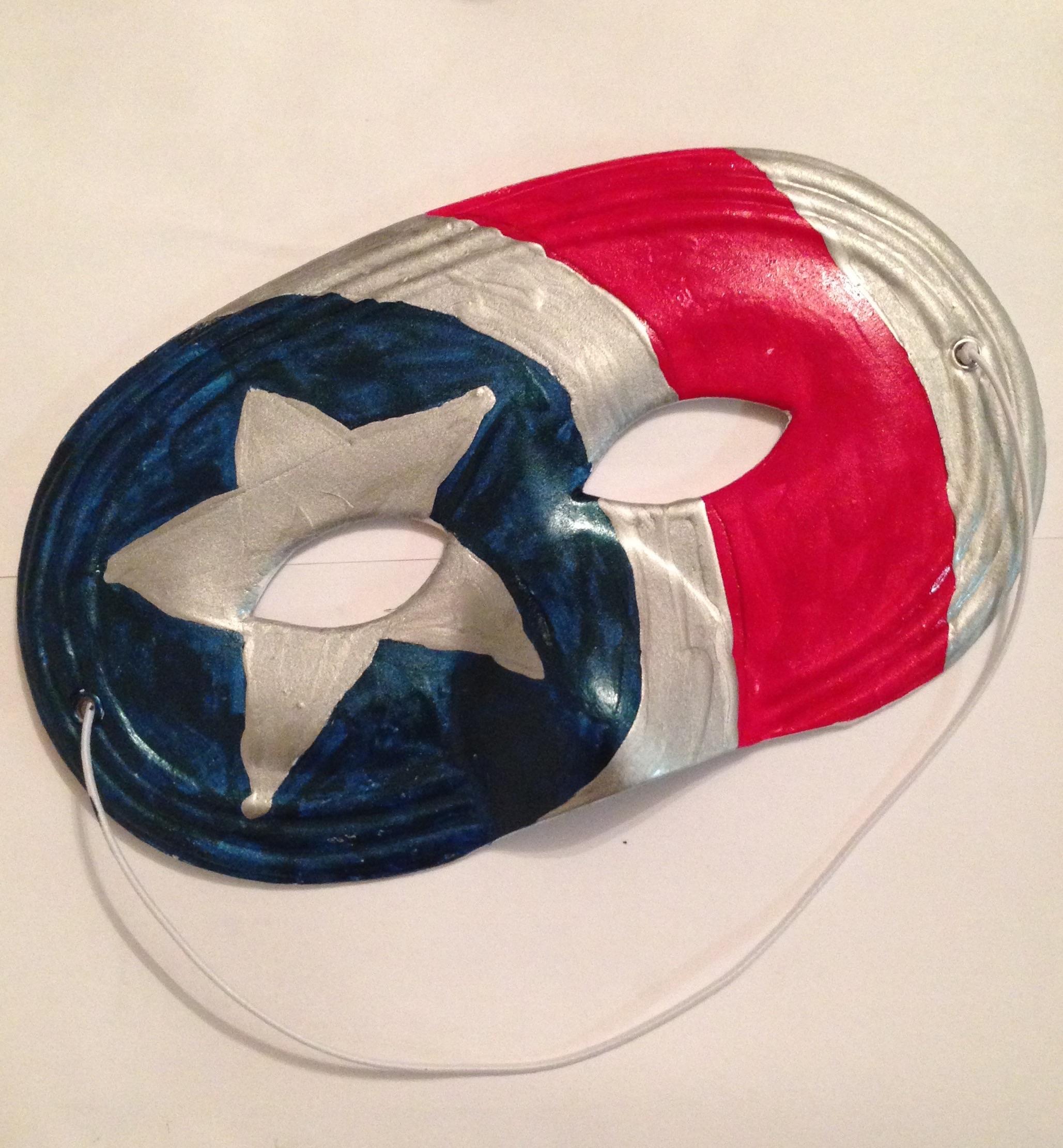 Diy Superhero Mask The Chirpy Hen